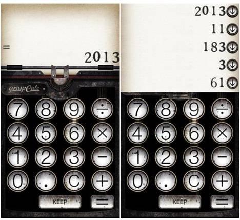 graspCALC 計算結果を「KEEP」し、「KEEP」した結果同士をさらに演算できる電卓アプリ「graspCALC」 - isuta[イスタ] - おしゃれ、かわいい、しあわせ