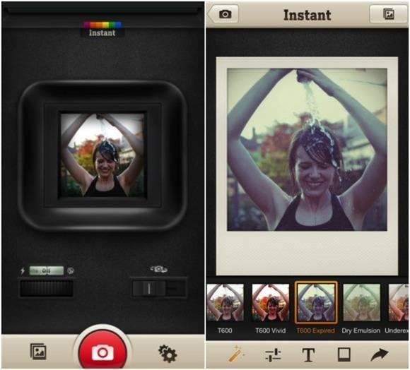 Instant - ポラロイドメーカー フレームに色を付けたりダメージ加工を施して、世界で1枚だけのポラロイド写真に仕上げる写真アプリ「Instant - ポラロイドメーカー」 - isuta[イスタ] - おしゃれ、かわいい、しあわせ