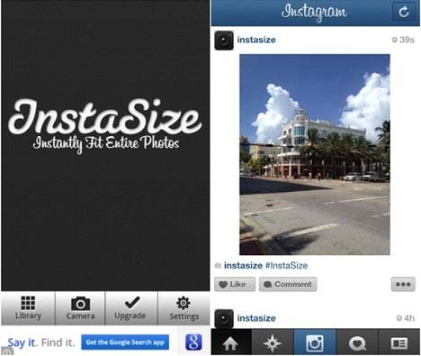 Instagramユーザーにオススメ 長方形の写真をそのまま簡単にシェア