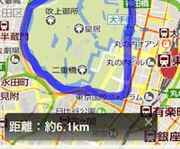 これは便利!地図を指でなぞると距離を測ってくれるウェブ地図アプリ「ゆびちず」 - isuta[イスタ] - おしゃれ、かわいい、しあわせ