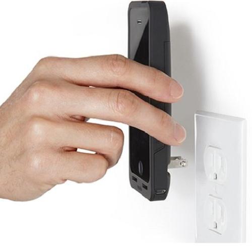 コンセントから直接充電できるiPhoneケース。Lightningケーブル?要りません(`・ω・´) - isuta[イスタ] - おしゃれ、かわいい、しあわせ