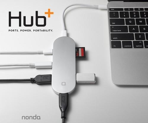 新型MacBookのポートを増やす便利アイテム『Hub+』 - isuta[イスタ] - おしゃれ、かわいい、しあわせ