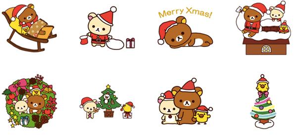 トモダチや恋人に送ろうクリスマス気分を盛り上げるlineスタンプ20選