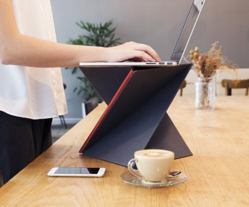 【レビュー】軽量折りたたみスタンディングデスク『LEVIT8』がとても使いやすくて満点! - isuta[イスタ] - おしゃれ、かわいい、しあわせ