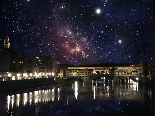 超幻想的な星空を作れるアプリ『Pixlr』