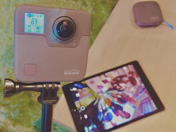 「とりあえず撮影」でインスタ映えを作れる♡GoProの新作360°カメラ『FUSION』の体験会に行ってきたよ!