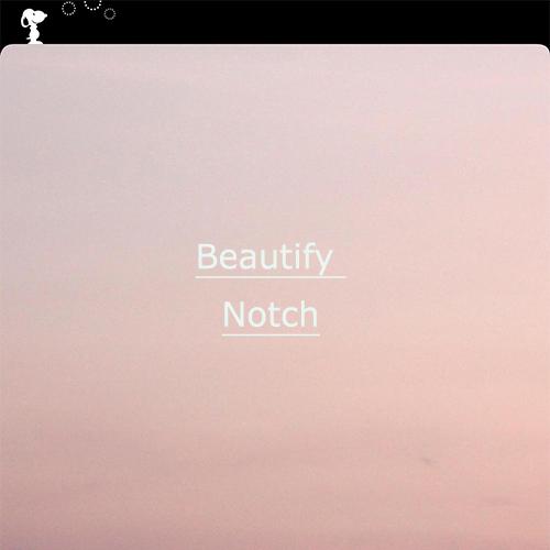 自己満だけどかわいい♡ iPhone Xのノッチ部分をカスタマイズできるアプリ「Beatify Notch」