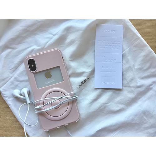 長く使いたくなるNaNa-NaNaの「NOT A MUSIC PLAYER」iPhoneケース見つけた♡
