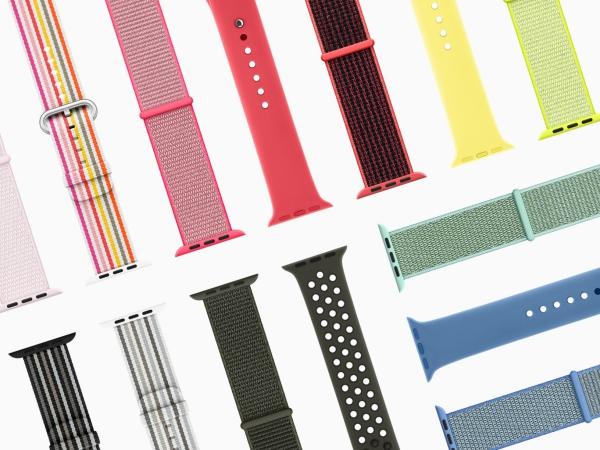 春らしい新色がたくさん登場!Apple Watchバンドのスプリングコレクションがさわやか&かわいい♡