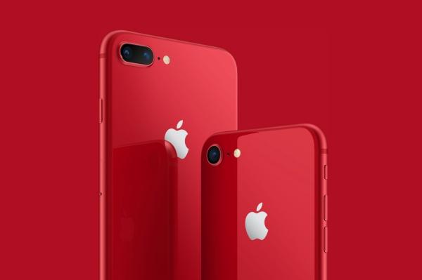 iPhone 8/8 Plusに真っ赤な新色が登場!チャリティモデル『(PRODUCT)RED Special Edition』が4月13日から発売開始