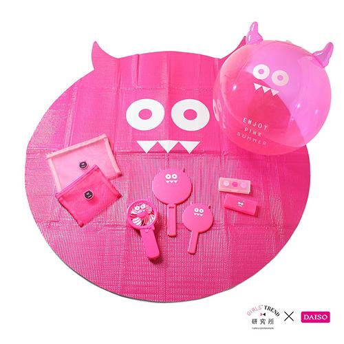 """本日発売!ダイソー×ガールズトレンド研究所のコラボ第6弾は""""PINKシリーズ""""♡今回も売り切れ必至のラインナップです"""