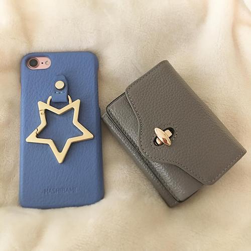 """星型のビックリングがかわいい。""""ケース迷子""""も一目惚れの「HASHIBAMI」のiPhoneケース♡"""