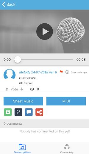 44f38b58e1d71 音楽好きな人におすすめ!口ずさんだ曲を楽譜に起こしてくれるアプリで ...
