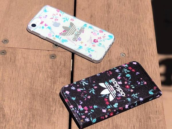 """adidas×花柄のiPhoneケースで""""媚びずにかわいい""""を手に入れよう!今なら非売品のノべルティもゲットできるかも♩"""