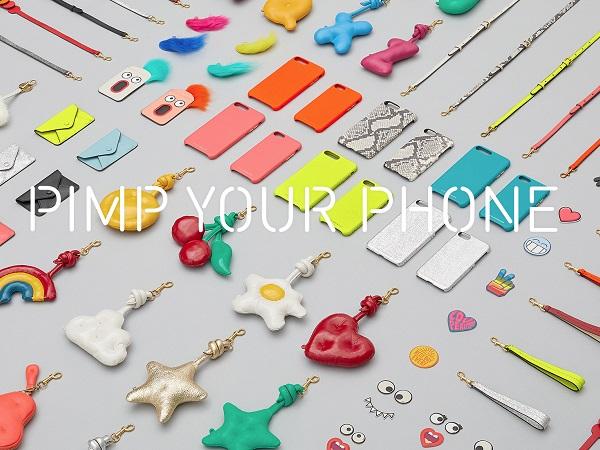 ポップで上質なおしゃれ上級者用iPhoneケース。アニヤ・ハインドマーチから遊び心満載のカスタマイズケースが登場♡