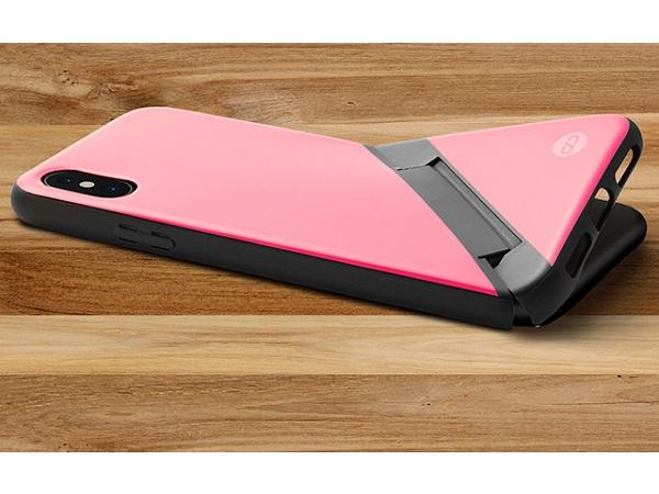 これが新しいiPhoneケースのカタチ?ケースが折れてスタンドになるスマホケースが豊富なカラバリで登場!
