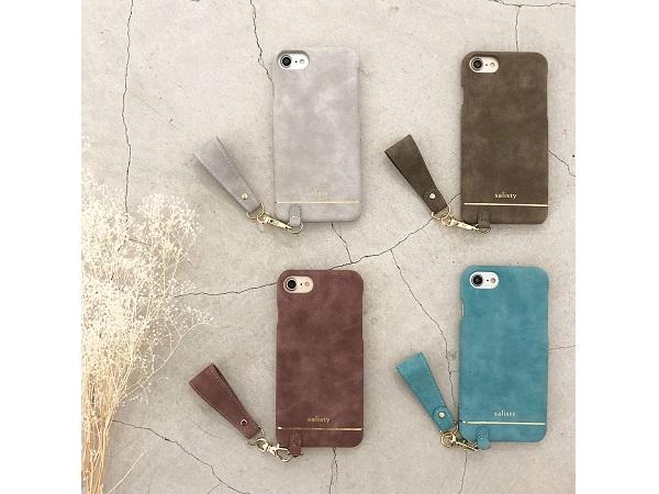 iFaceで有名なスマホメーカーから誕生した女性向けブランド。「salisty」から待望のカバー型iPhoneケースが登場♡