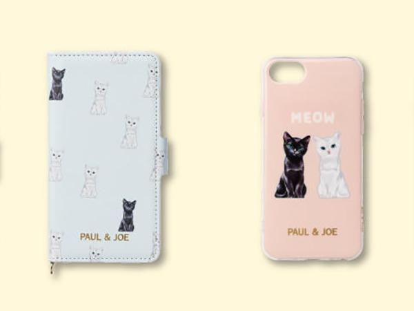 ポール&ジョーのクリエイティブディレクターの飼猫も登場♡猫モチーフのiPhoneケースが相変わらずかわいすぎ