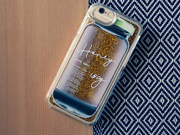 蜂蜜の甘い香りがしてきそう。リアルな瓶デザインの「Jar」シリーズiPhoneケースがかわいい♪