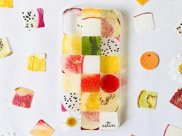 本物の野菜とフルーツがiPhoneケースになっちゃった「astin muhler」がかわいすぎ!今ならハロウィン限定ケースも♡