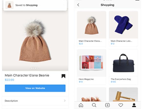 【インスタグラム新機能】気になった商品画像をまとめて保存できる「ショッピングコレクション」機能がとっても便利♡