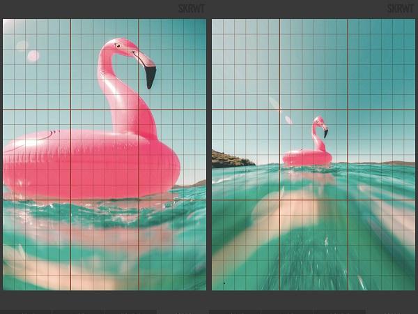 端に映る人だけ歪んじゃう…そんなお悩みを解決!歪みを簡単に補正できるアプリ『SKRWT』で完璧な写真を作ろう♩