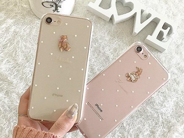 テディベアケースに名入れができちゃう♡ラブリーなiPhoneケースが欲しい時は『Milry Couture』をチェックして♩