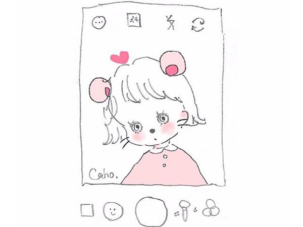 かわいいから毎日見ちゃう♡インスタでも人気のイラストレーターCahoのダイエットアプリが登場!