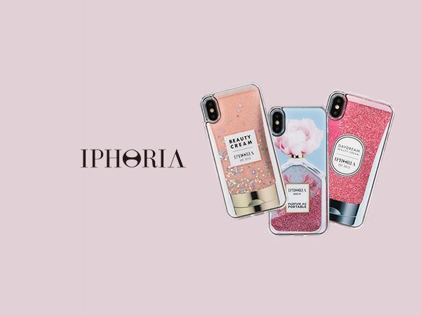 一部商品セール中!春にぴったり、流れるグリッターがかわいいIPHORIAのiPhone X/XSケース集めました♡