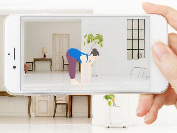 これなら続くかも…自宅にARインストラクターが登場するフィットネスアプリ「WEBGYM」♡