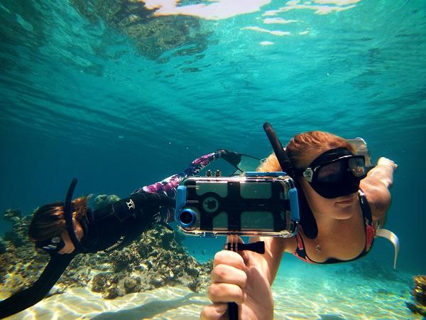 ダイビングでも使ちゃう♡iPhoneをアクションカメラに変身させる防水ケースがこの夏活躍してくれそうな予感!