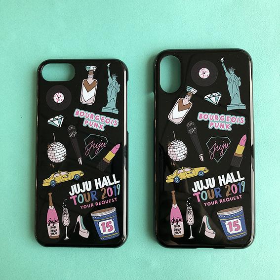 大人かわいいiPhoneケースも♡JUJU15周年アニバーサリーツアーのグッズは『ASH+CHESS』とコラボ!