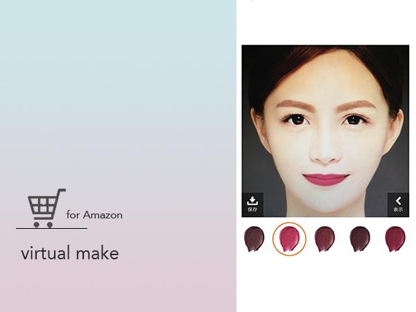 Amazonアプリに「バーチャルメイク」機能が追加!スマホカメラで色味チェックができるように♩