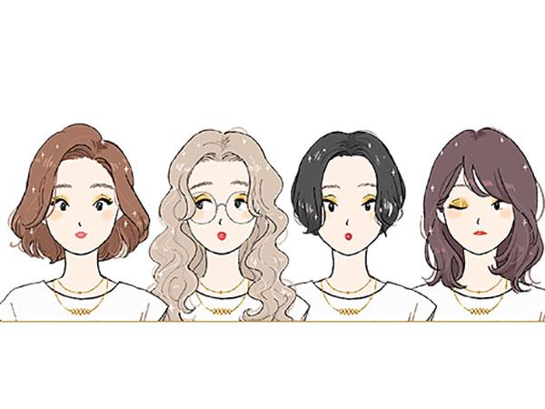 ヘアケアブランド「LUX」のサイトであなたにぴったりのヘアスタイル似顔絵を作れる「似髪絵メーカー」が公開中♡