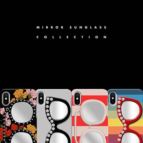 スマホの背面でちらっとミラーチェック♩「IPHORIA」のミラー付きiPhoneケースがおしゃれ可愛い♡
