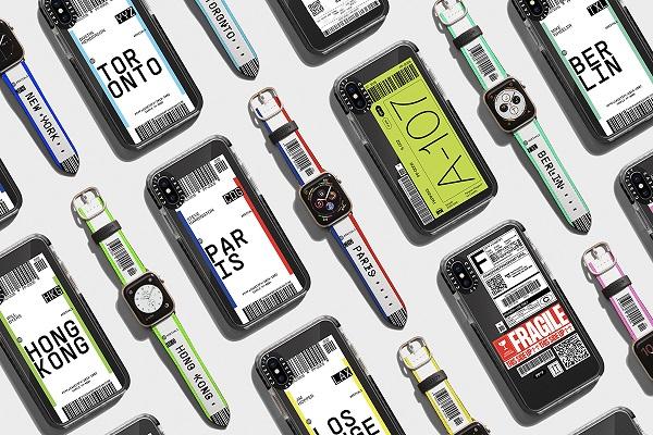 ラゲッジタグモチーフがおしゃれ♡「CASETiFY× Pangram Pangram®」のコラボiPhoneケースが販売開始!