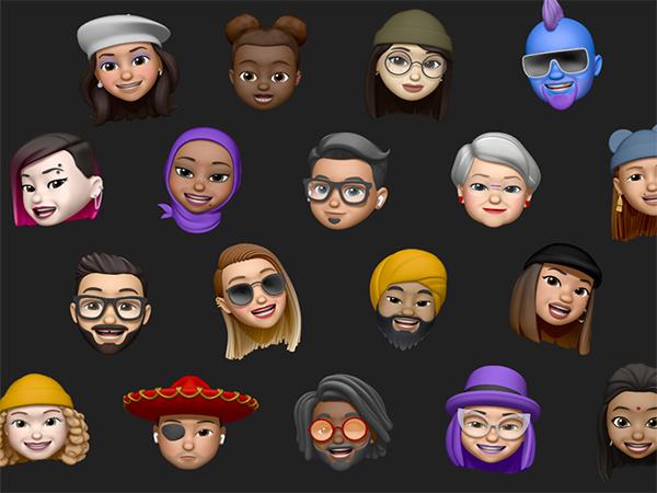 【iOS 13】進化した「ミー文字」はメイクやピアスも追加可能に♡より個性的で自分らしい顔で遊べそう