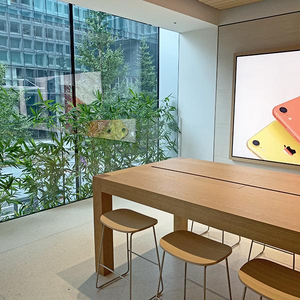 """今週末、Apple 丸の内がオープン!日本らしさを象徴する""""竹""""を加えたデザインが美しい最大規模の直営店"""