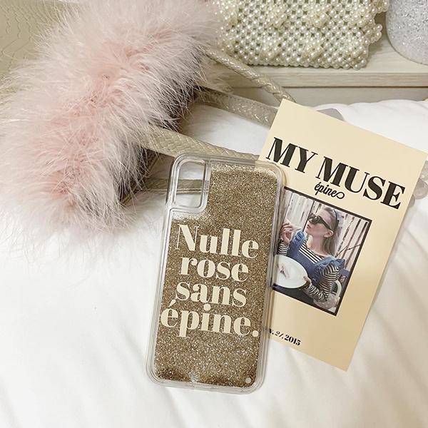 プレゼントされたら間違いなく嬉しい…「epine」のグリッターiPhoneケースがたまらないかわいさと話題です♡
