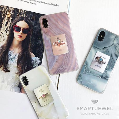 スマホリングで個性を出すなら…誕生石カラーのストーンが選べる「SMART JEWEL Ring」が特別感たっぷり♡