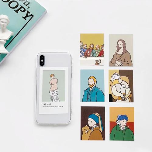 """芸術の秋にぴったり。その日の気分でゴッホやピカソの名画を入れ替えられる""""アート鑑賞できる""""iPhoneケース"""