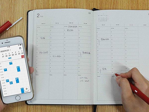 """手書きの書きこみをデジタルでも管理。今年の予定は「Neo smartpen」を使って""""デジアナ""""管理が賢いかも♩"""