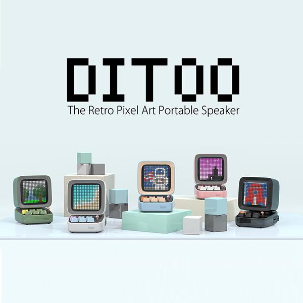 クリスマスプレゼントにもいいかも?レトロPC型のワイヤレススピーカー「DITOO」がおしゃれでかわいい♡
