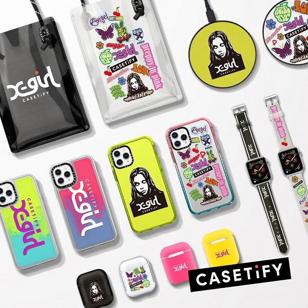 X-girlとCASETiFYがコラボ。ステッカーコラージュ風のiPhoneケースが1月31日から発売開始です♡