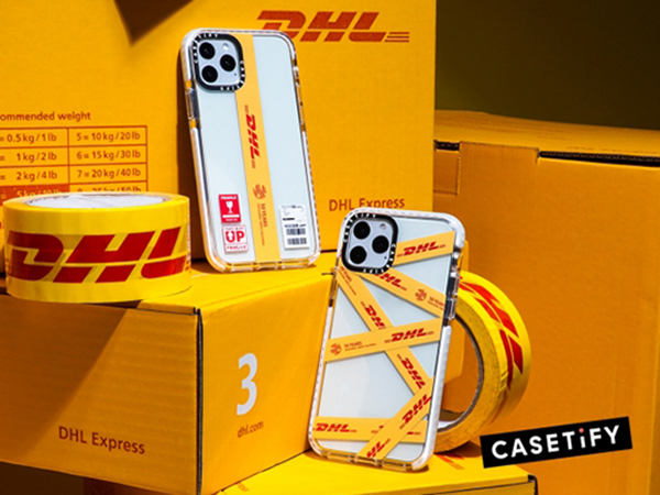 瞬く間に完売した「DHL×CASETiFY」コラボテックアクセサリーがセレクトショップ「RESTIR」で再販決定!