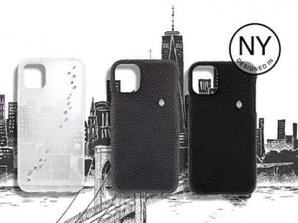 NYでデザインされたクリスタルが光る。iPhone 11のケースがauオリジナル製品として登場♩