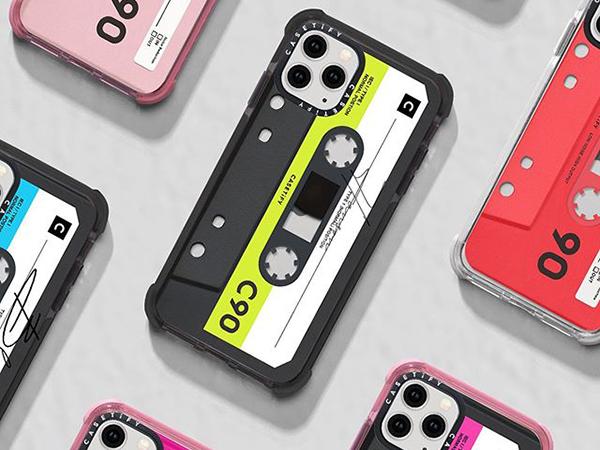 カセットテープと間違えちゃいそう。「CASETiFY」からインパクト抜群のiPhoneケースが登場♩