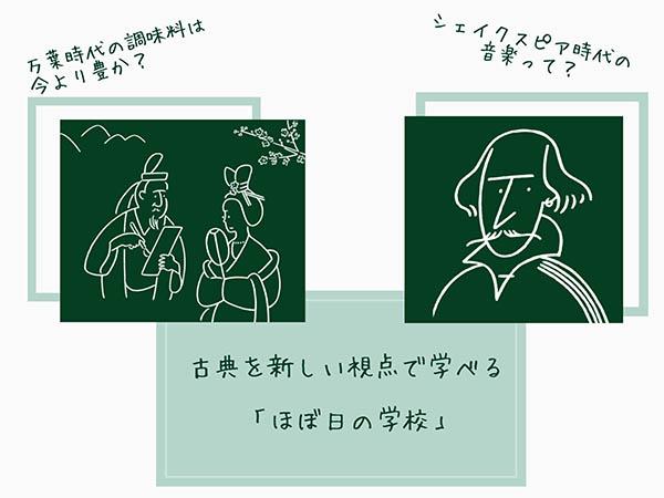"""""""シェイクスピア""""や""""万葉集""""を学んでみない?「ほぼ日の学校」オンラインクラスが4月末まで無料公開中♩"""
