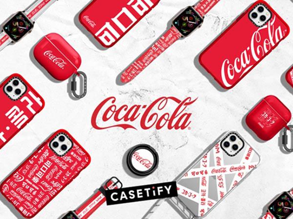 あのコカ・コーラのロゴがiPhoneケースに!CASETiFYより新作コラボ「Coca-Cola」コレクションが登場♩