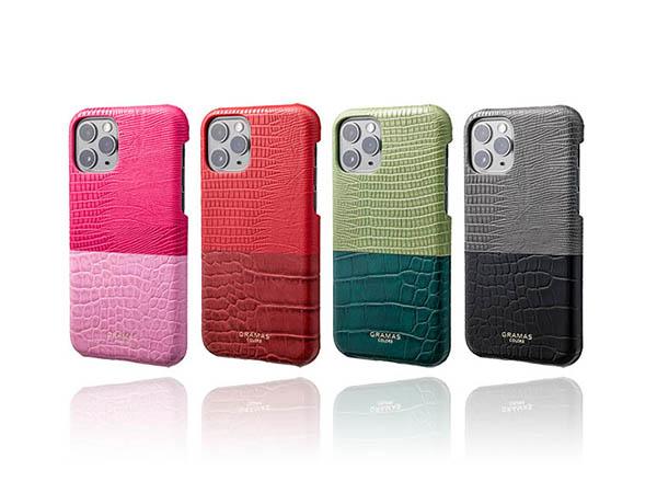 春はやっぱりピンクが気になる♡「GRAMAS」の華やかバイカラーiPhone 11Pro/11Pro Maxケース♩